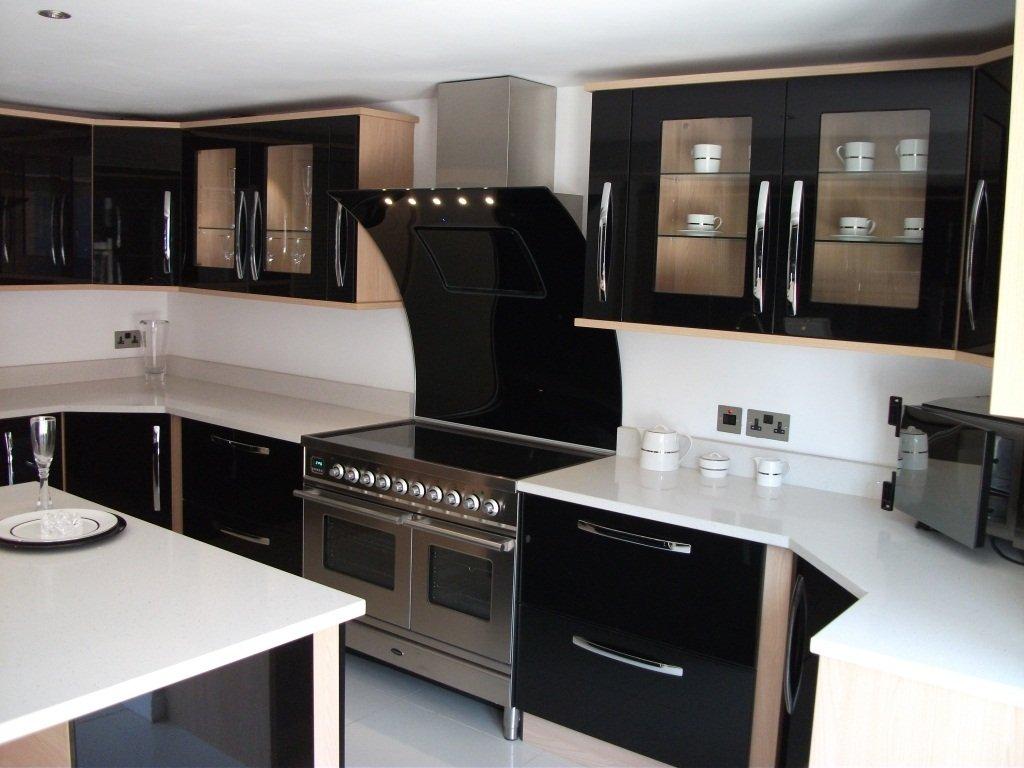 decoracin de cocinas pequeas y modernas - Cocinas Modernas Pequeas