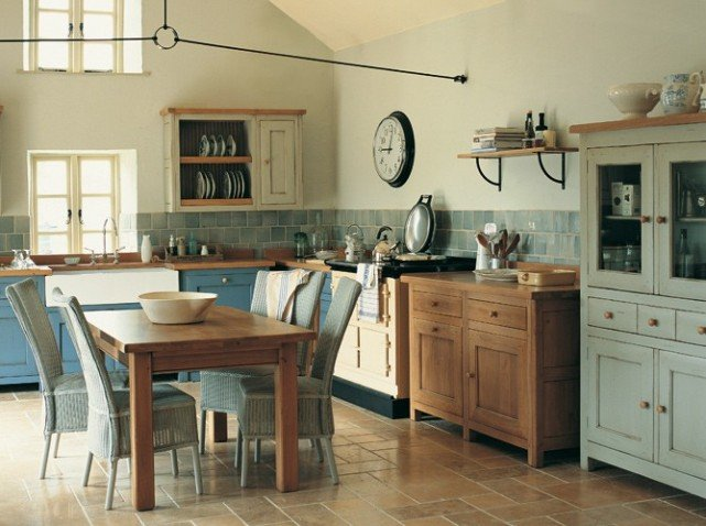 Decoracion de cocinas rusticas bricodecoracioncom for Kitchen colors with white cabinets with papier carte grise