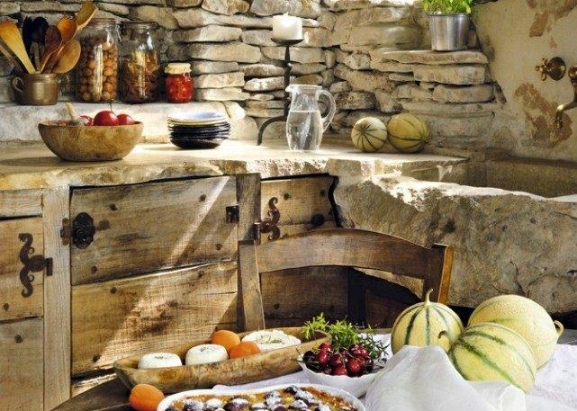 Decoración de cocinas rústicas. BricoDecoracion.com