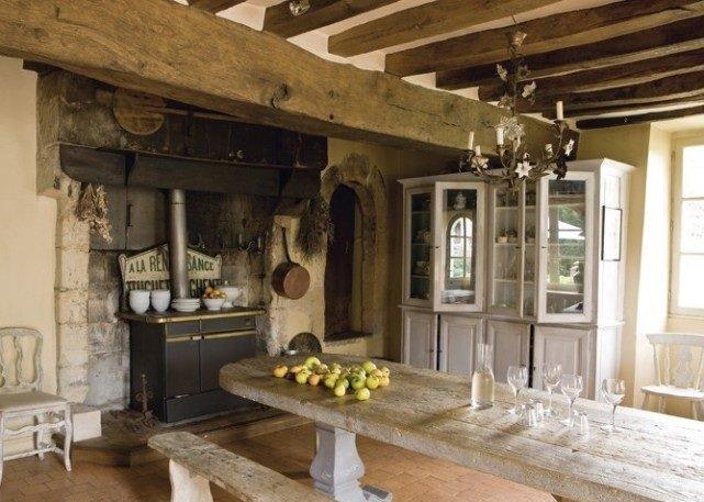 Decoraci n de cocinas r sticas - Fotos cocinas rusticas campo ...