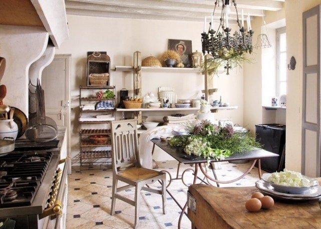 decoraci n de cocinas r sticas. Black Bedroom Furniture Sets. Home Design Ideas