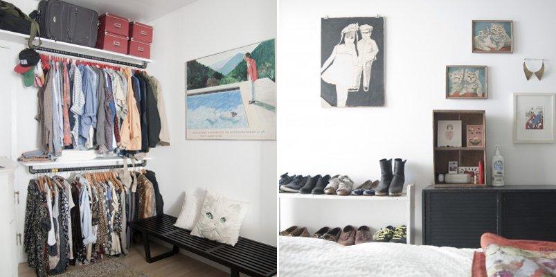 Decoraci n de una habitaci n de ambiente suave y relajante - Decoracion de una habitacion ...