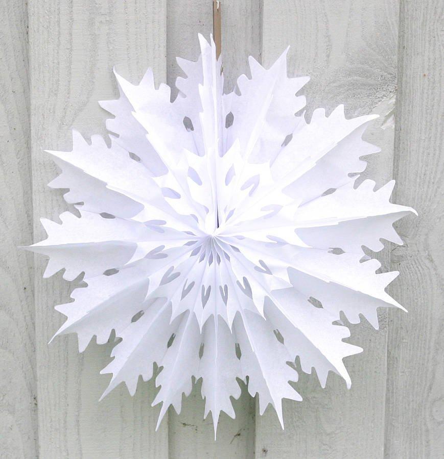 Decoraciones navide as de papel de seda - Adornos de navidad con papel ...