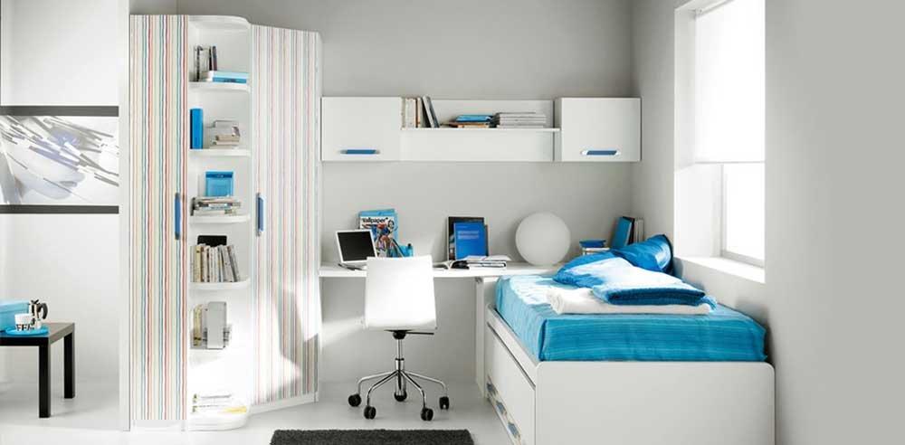 Habitaciones juveniles de la firma Kiona. BricoDecoracion.com