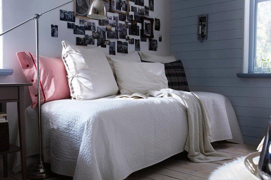 Dormitorios Ikea cama supletoria de la serie Hemnes