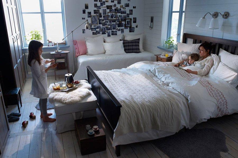 Dormitorios ikea serie malm y serie hemnes for Dormitorio matrimonio ikea