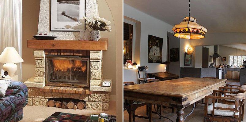 decoracion de interiores madera rustica:toque de las casas de pueblo dentro la gran ciudad