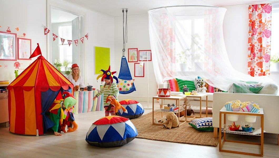 Habitaci n infantil de circo - Ikea habitacion infantil ...