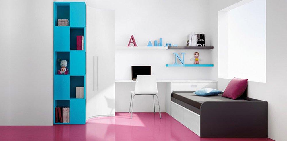 Habitaciones juveniles de la firma kiona for Recamaras para jovenes minimalistas