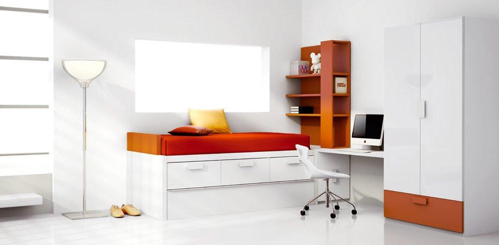Habitaciones juveniles de la firma kiona - Muebles esquineros modernos ...