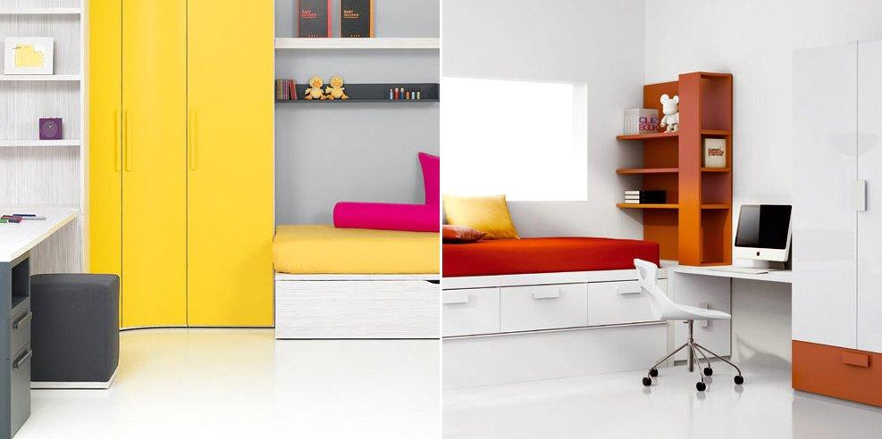 Habitaciones juveniles de la firma kiona - Habitaciones juveniles muebles tuco ...