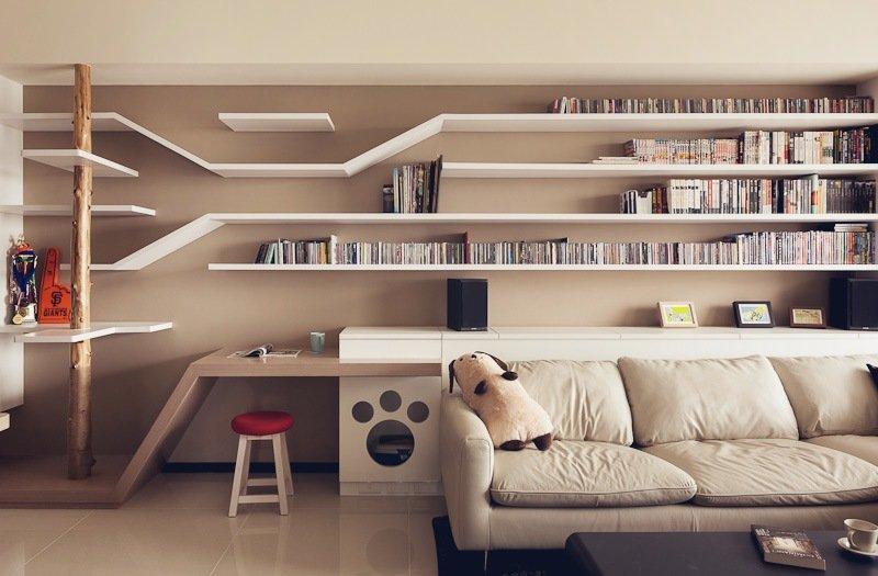 ichi cat house una casa adaptada perfecta para convivir. Black Bedroom Furniture Sets. Home Design Ideas