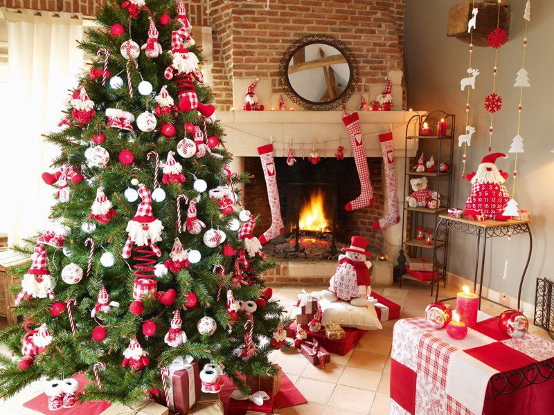 Ideas para decorar el rbol de Navidad BricoDecoracioncom