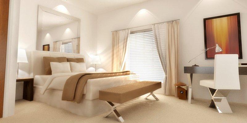 Iluminaci n de un dormitorio - Iluminacion de dormitorios ...