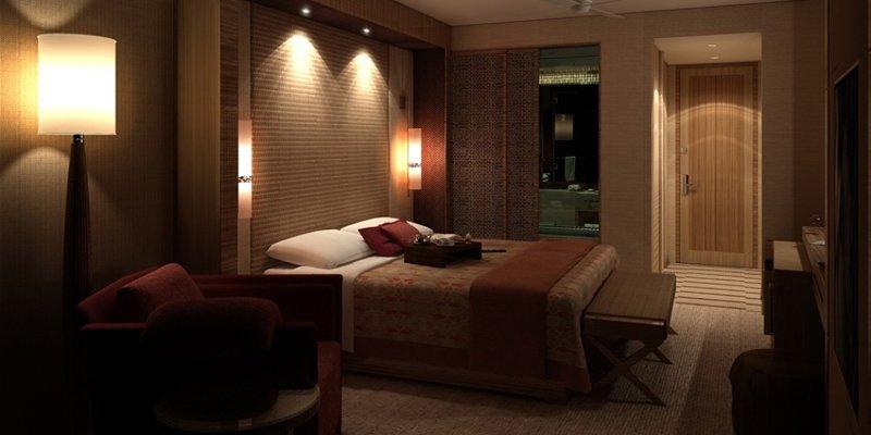 Iluminaci n de un dormitorio for Hotel design genes