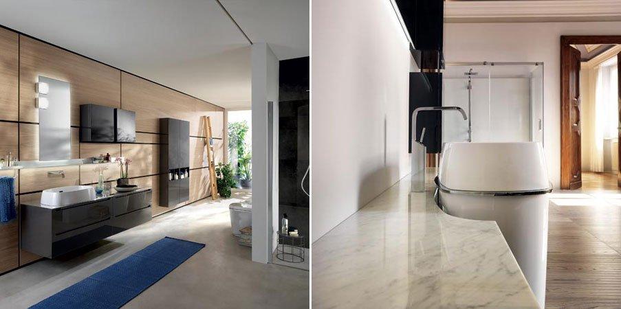 Blu scavolini un nuevo concepto para el cuarto de ba o for Cuartos completos