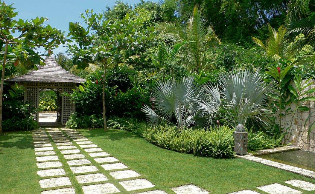 Decoraci n del jard n for Paisajismo jardines exteriores