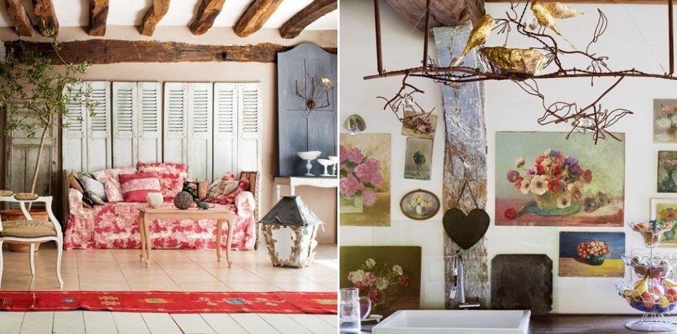 Inspiraci n de una casa de campo de estilo cl sico for Cuadros estilo clasico