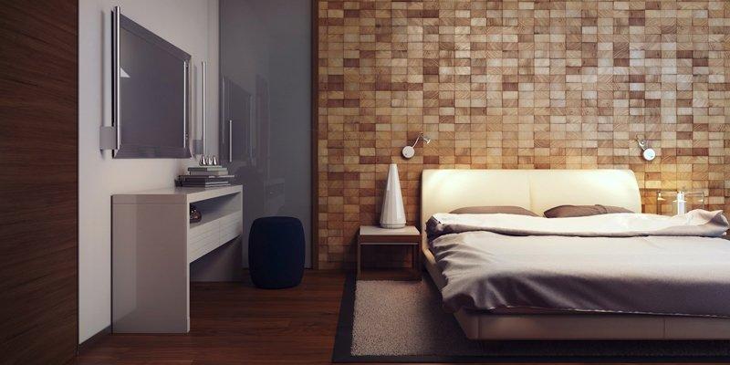 Iluminaci n de un dormitorio - Cabecero de la cama ...