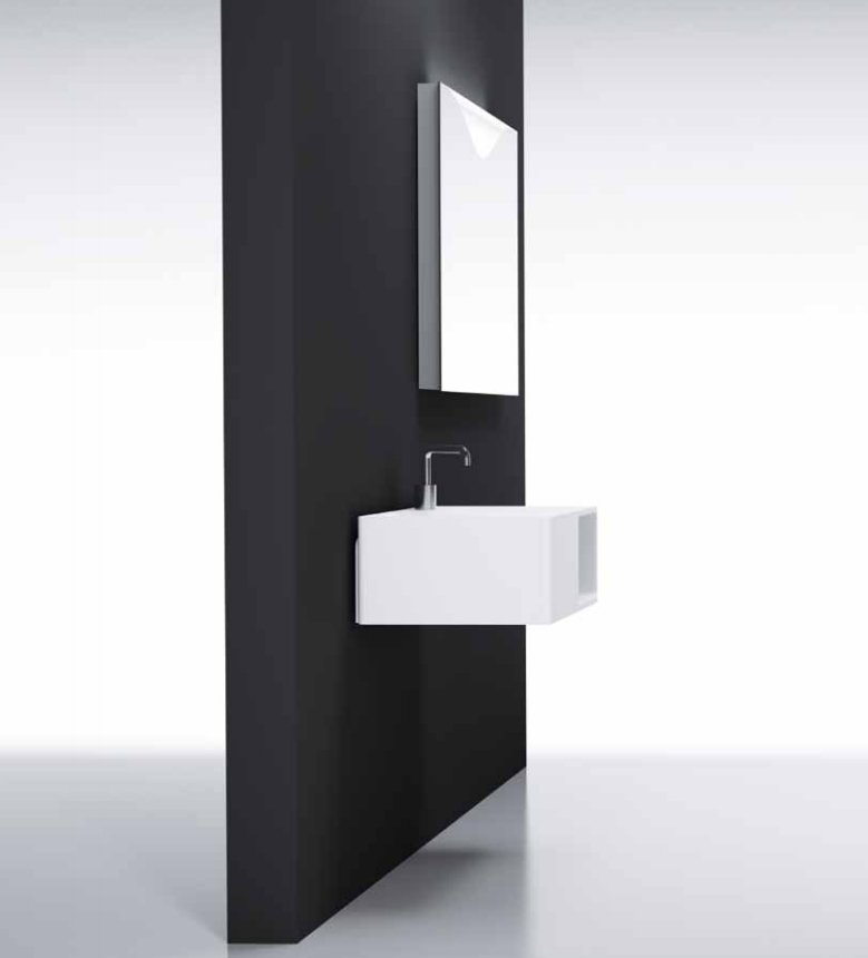 Lavabos Modernos Para Baños Pequenos:Lavabos Cosmic para baños modernos BricoDecoracioncom