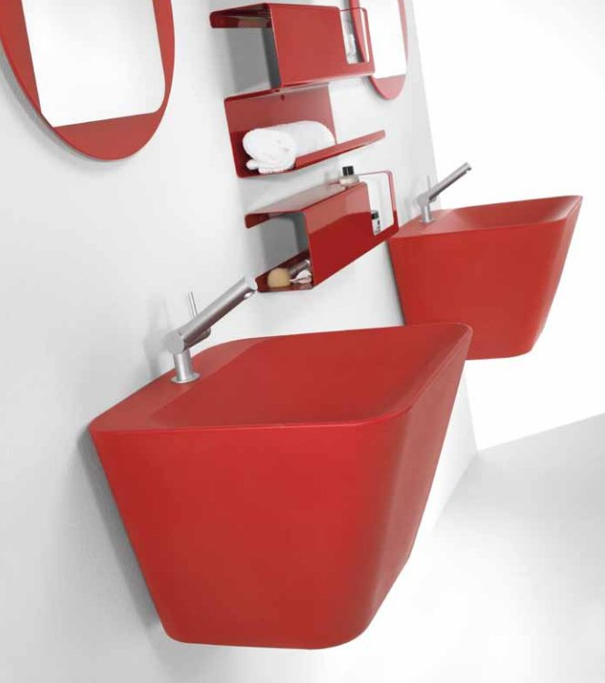 Lavabos Para Baño Modernos:Lavabos Cosmic para baños modernos BricoDecoracioncom
