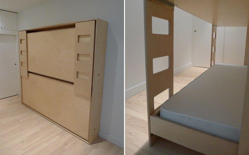 Litera plegable para habitaciones peque as for Recamaras pequenas para ninos