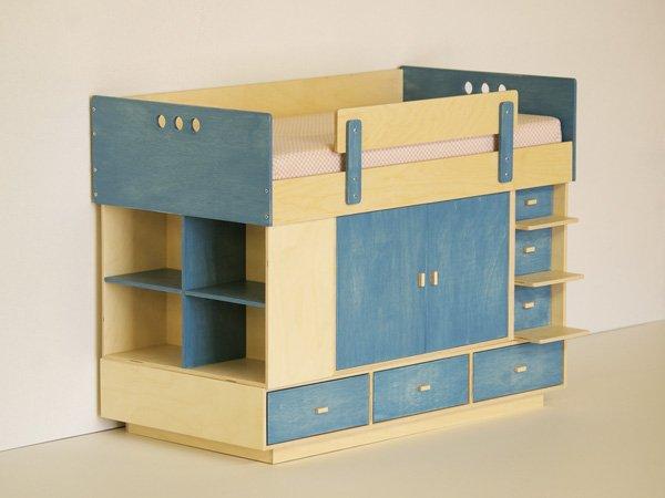 Muebles para habitaciones peque as de casa kids litera - Muebles infantiles para habitaciones pequenas ...