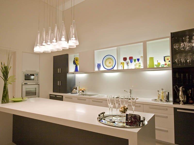 luz para la decoracin de la cocina