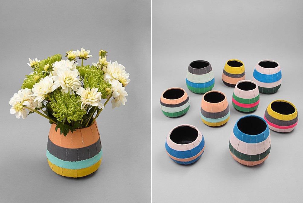 Coloridas macetas para nuestras plantas de interior - Soportes para macetas de interior ...