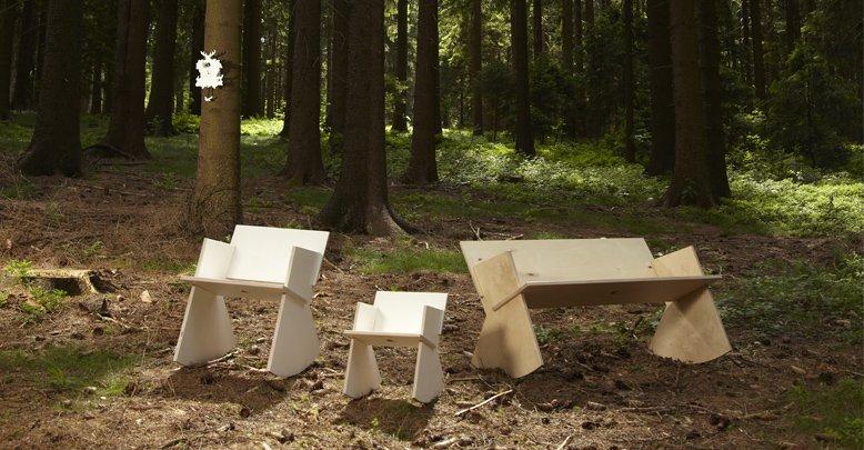 Mecedoras de madera naturales for Mecedoras para jardin