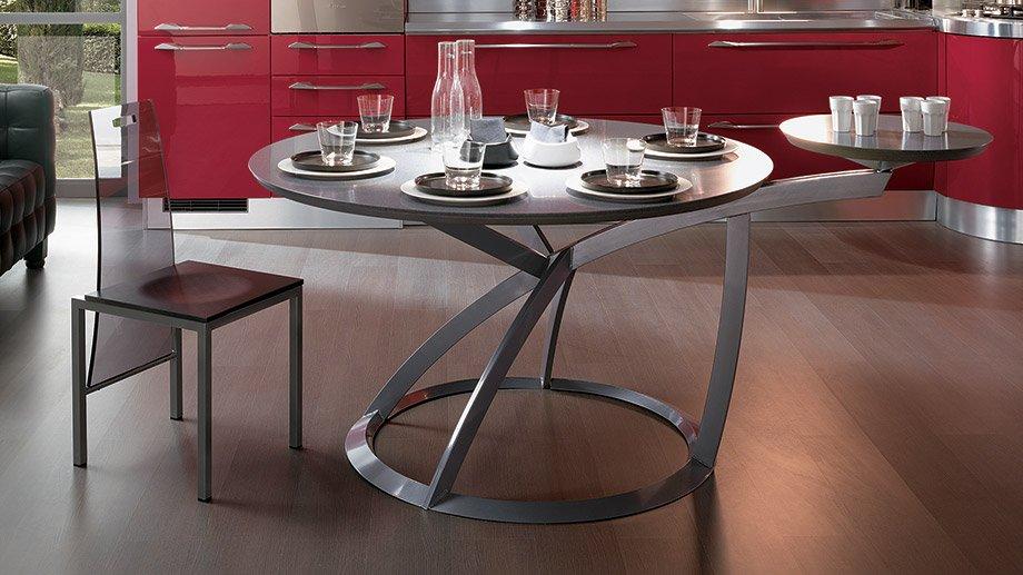 Mesas de cocina scavolini for Mesa cocina moderna