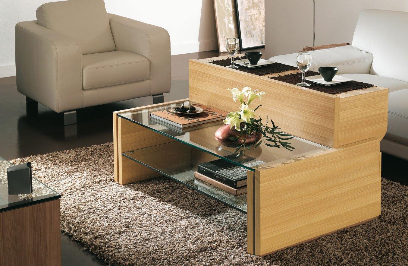 Mesas bajas para el sal n de la firma gautier - Mesas de libro para salon ...