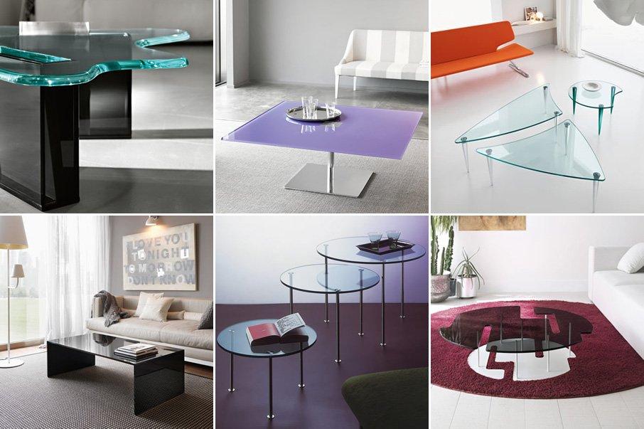 Mesas de centro de cristal modernas - Mesas modernas de centro ...