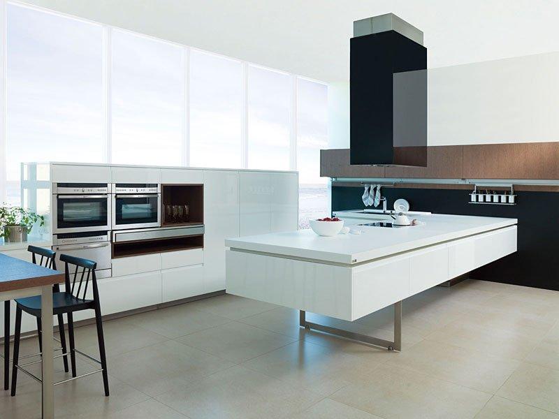 Muebles de cocina gama decor for Muebles de cocina modernos color blanco