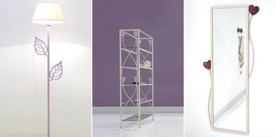 Dormitorios modernos en forja - Muebles en forja ...