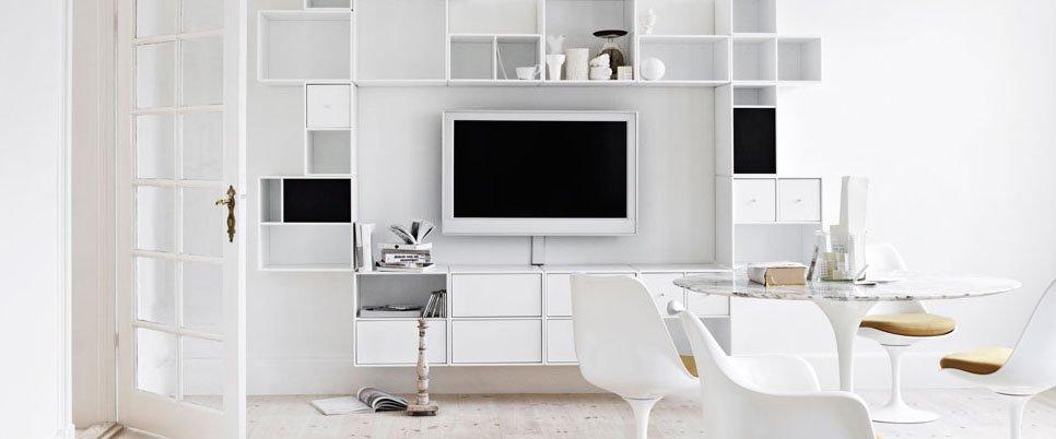 Muebles modulares de la firma montana for Muebles modulares