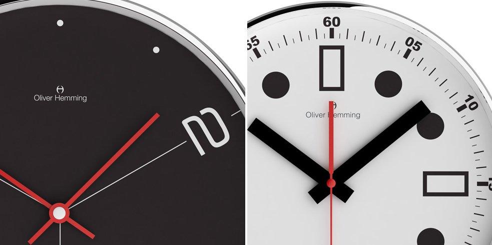 Relojes de pared modernos de oliver hemming - Relojes de pared modernos ...