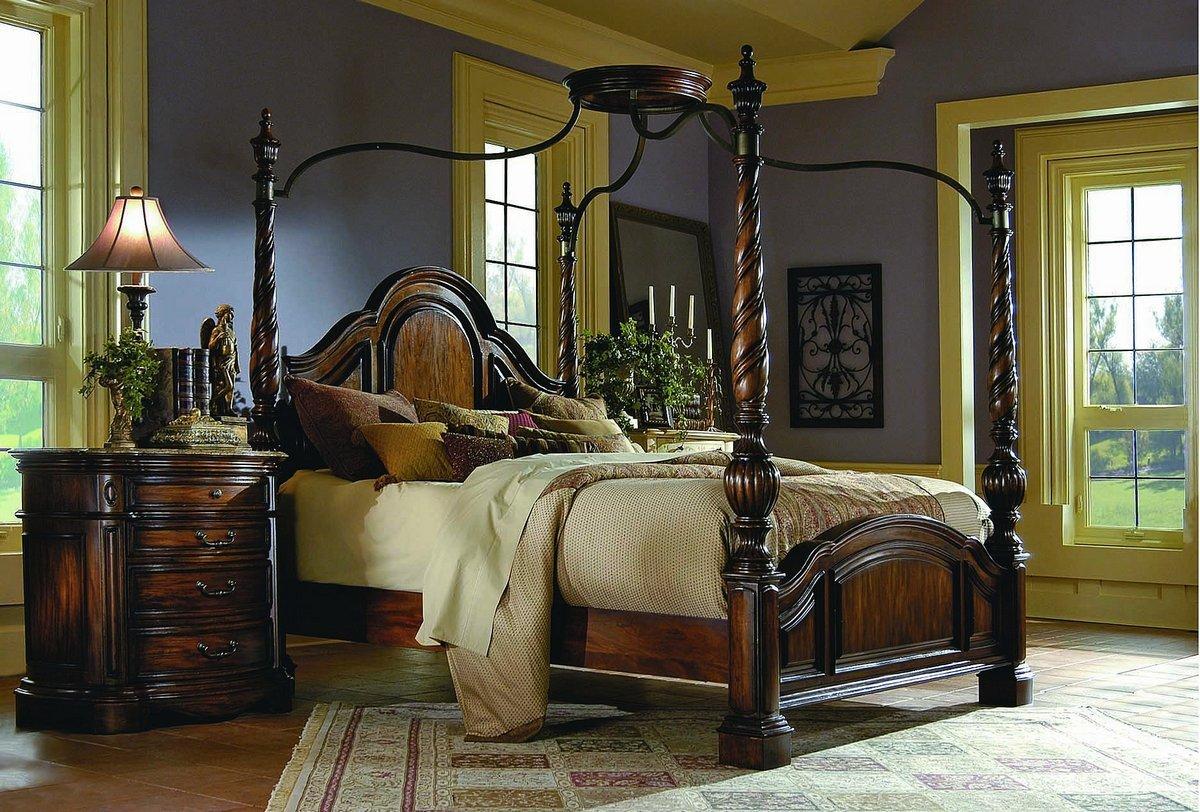 Selecci n de camas con dosel - Cama dosel madera ...
