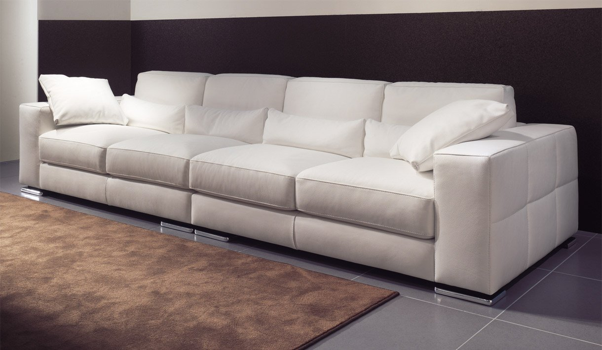 Pin sofas modernos on pinterest for Sofas grandes modernos