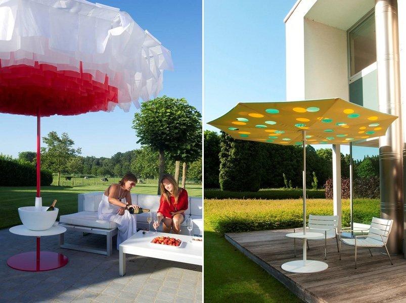 Sombrillas para terraza de diseño. BricoDecoracion.com
