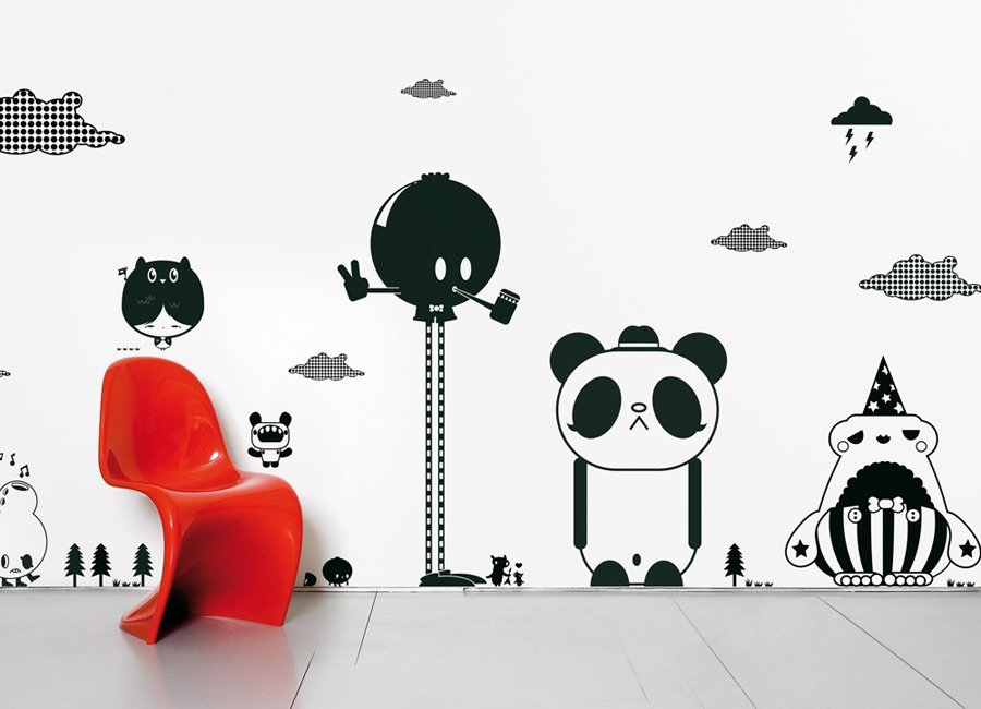 stickers para habitaciones infantiles