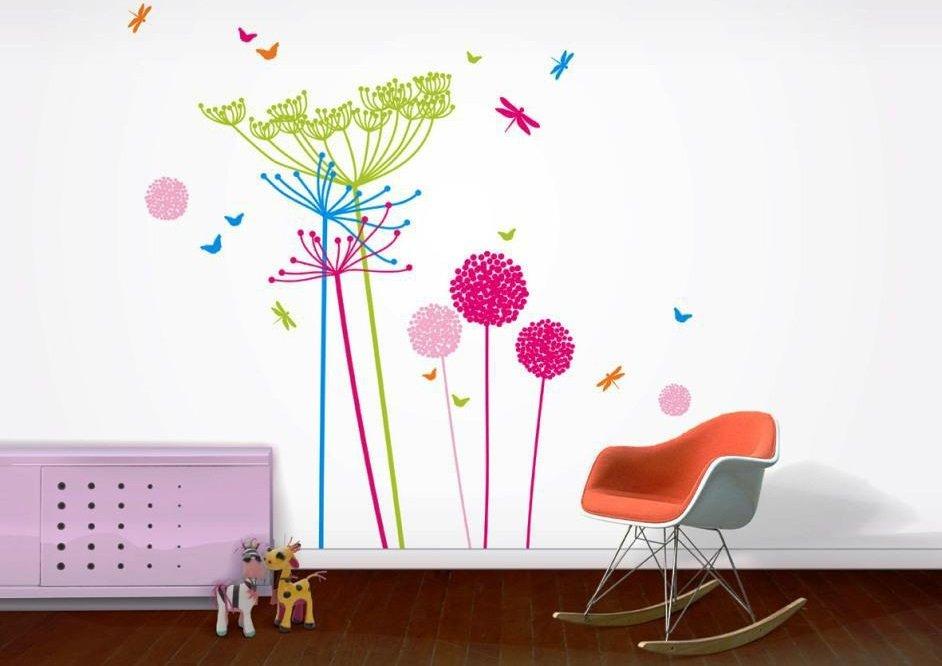 9 claves para decorar la habitaci n de los peque os for Stickers habitacion nina