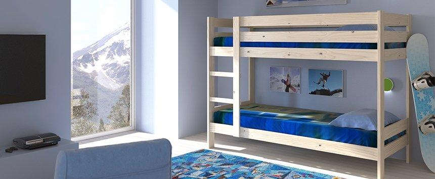 Tipos de literas - Ropa de cama para literas ...