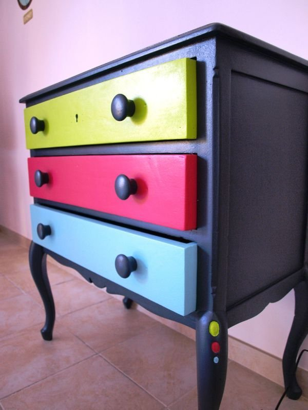 Tipos de pintura para pintar un mueble for Pintura de muebles de madera