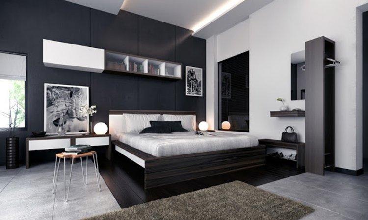 Consejos para una decoración de interiores en blanco y negro ...