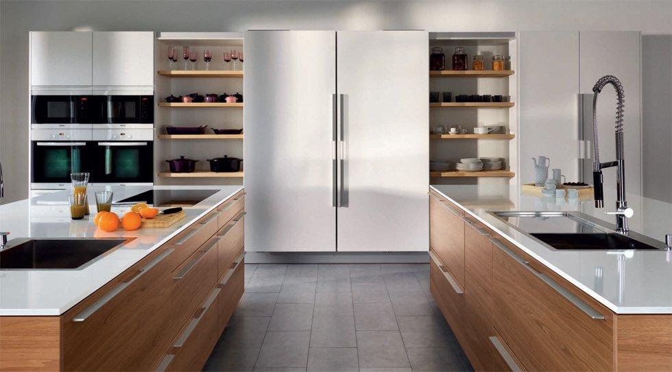 Fotos de la cocina wood natura nogal cocina wood natura - Cocinas color nogal ...
