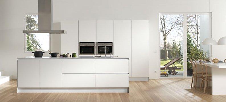 Muebles de cocina con isla central idea creativa della for Muebles cocina isla central