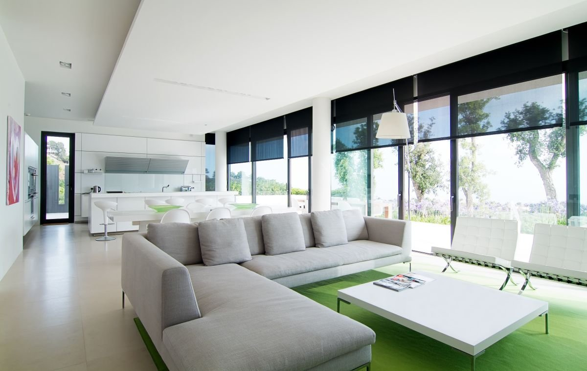 Decoraci n de estilo minimalista for Modern house design inside